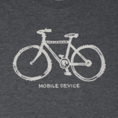 Men's Mobile Device Bike Cool Tee