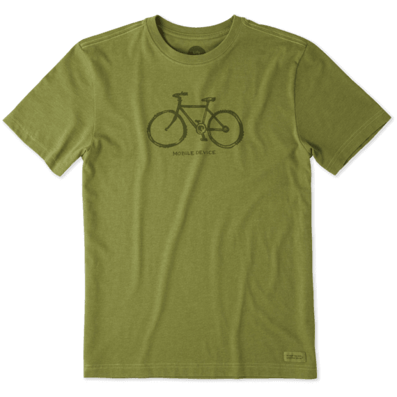 Men's Mobile Device Bike Crusher Tee