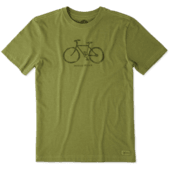 Men's Mobile Device Bike Crusher Tee