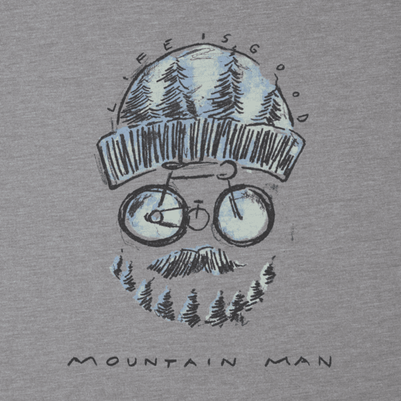 Men's Mountain Bike Man Long Sleeve Cool Tee