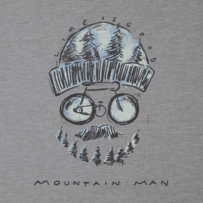 Men's Mountain Bike Man Long Sleeve Cool Tee