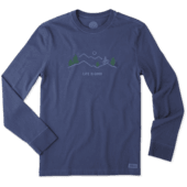 Men's Mountain Bike Vista Long Sleeve Crusher Tee