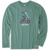 Men's Mow Town Long Sleeve Crusher Tee