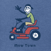 Men's Mow Town Jake Vintage Crusher Tee