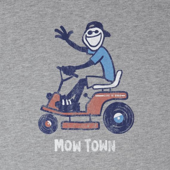 Men's Mow Town Lawn Jake Crusher Tee