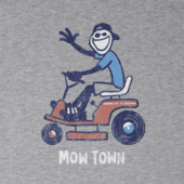 Men's Mow Town Lawn Jake Crusher Tee