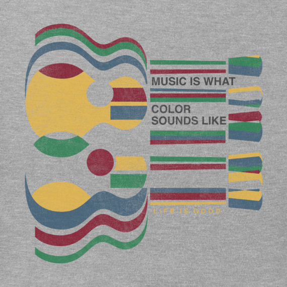 Men's Music Color Crusher Tee
