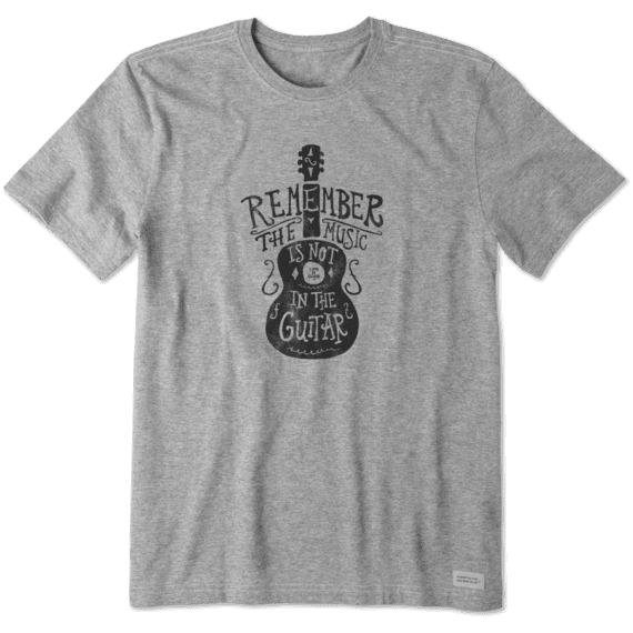 Men's Music Is Not In The Guitar Crusher Tee