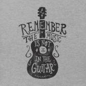 Men's Music Is Not In The Guitar Crusher Tee