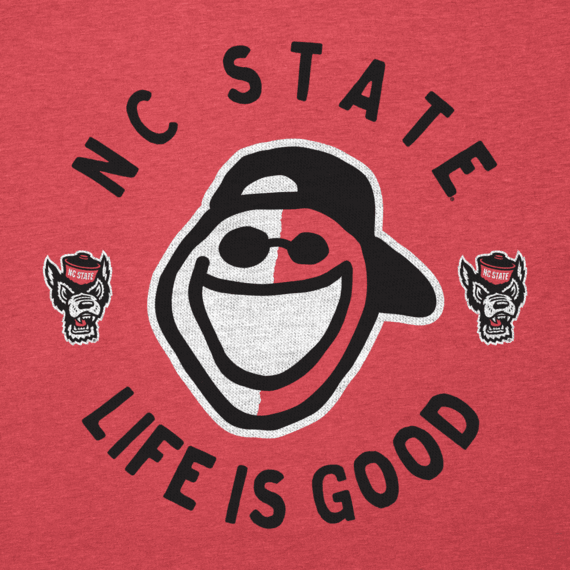Men's NC State Face Paint Jake Cool Tee