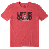 Men's NC State Life is Good Cool Tee