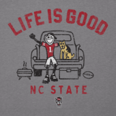 Men's NC State Tailgate Jake Long Sleeve Cool Tee