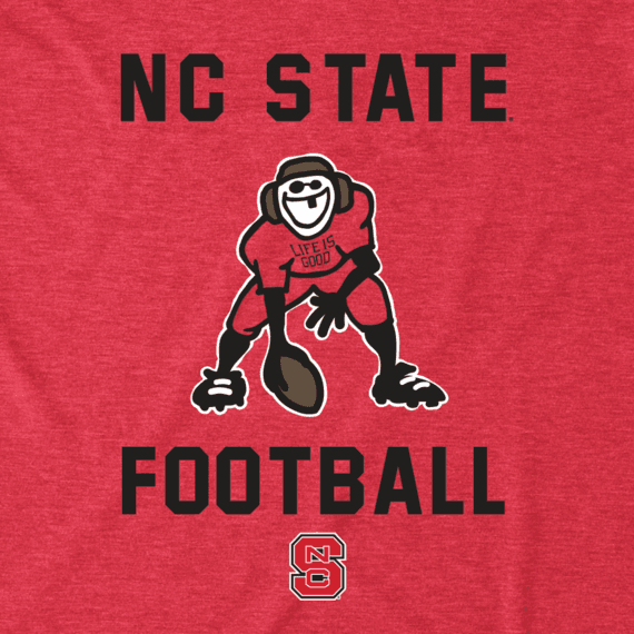 Men's NC State Wolfpack Football Jake Cool Tee