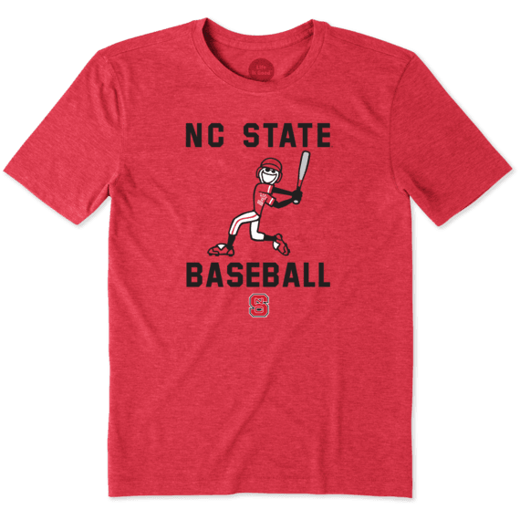 Men's NC State Wolfpack Baseball Jake Cool Tee