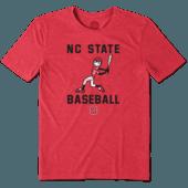 Men's NC State Wolfpack Baseball Jake Cool Tee