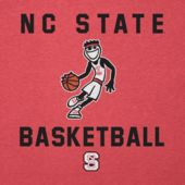Men's NC State Wolfpack Athlete Jake Long Sleeve Cool Tee