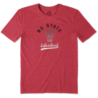 Men's NC State Wolfpack Gradient Tailwhip Cool Tee