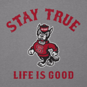 Men's NC State Wolfpack Stay True Long Sleeve Cool Tee