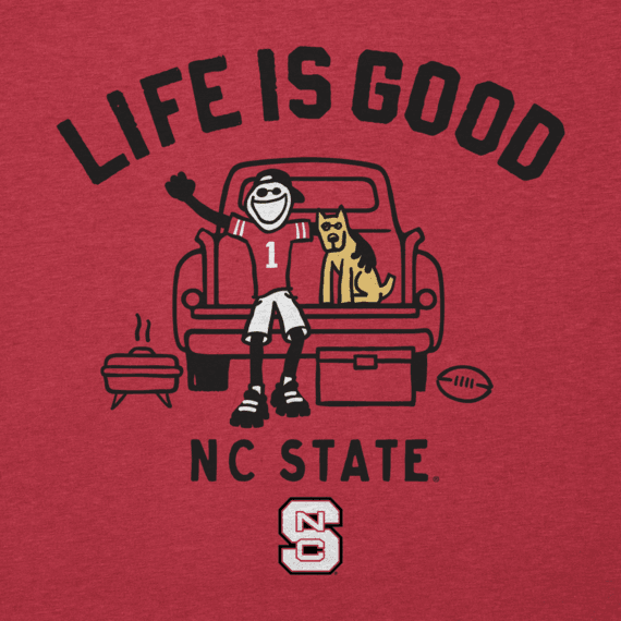 Men's NC State Wolfpack Tailgate Jake Cool Tee