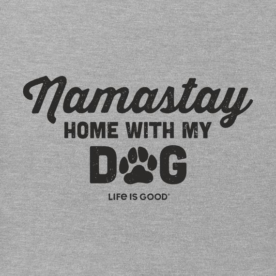Men's Namastay with My Dog Crusher Tee