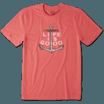Men's Nautical Anchor Crusher Tee