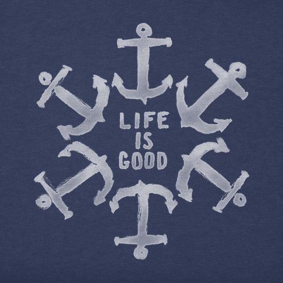 Men's Nautical Star Crusher Tee