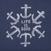 Men's Nautical Star Crusher Tee