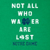 Men's Not All Who Wander Notre Dame Cool Tee