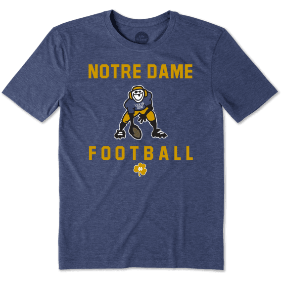 Men's Notre Dame Football Jake Cool Tee