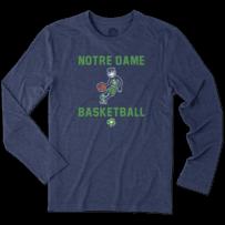 Men's Notre Dame Athlete Jake Long Sleeve Cool Tee