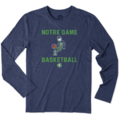 Men's Notre Dame Athlete Jake Long Sleeve Cool Tee