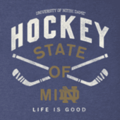 Men's Notre Dame Hockey State of Mind Cool Tee
