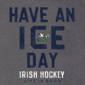 Men's Notre Dame Ice Day Cool Tee