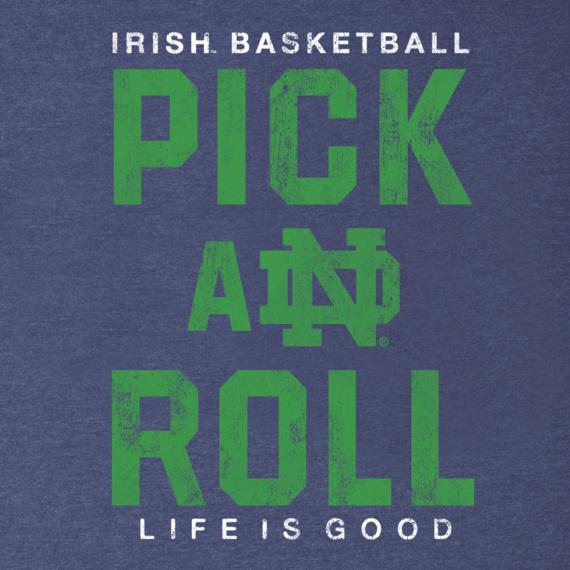 Men's Notre Dame Pick & Roll Cool Tee