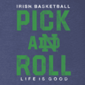 Men's Notre Dame Pick & Roll Cool Tee