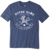 Men's Notre Dame Simple As That Cool Tee