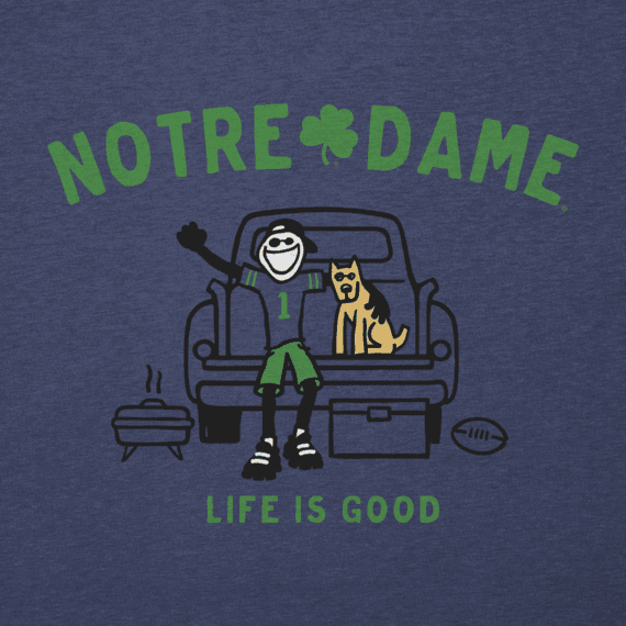 Men's Notre Dame Tailgate Jake Cool Tee