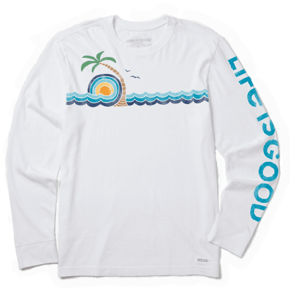 Men's Ocean Breeze Long Sleeve Crusher Tee