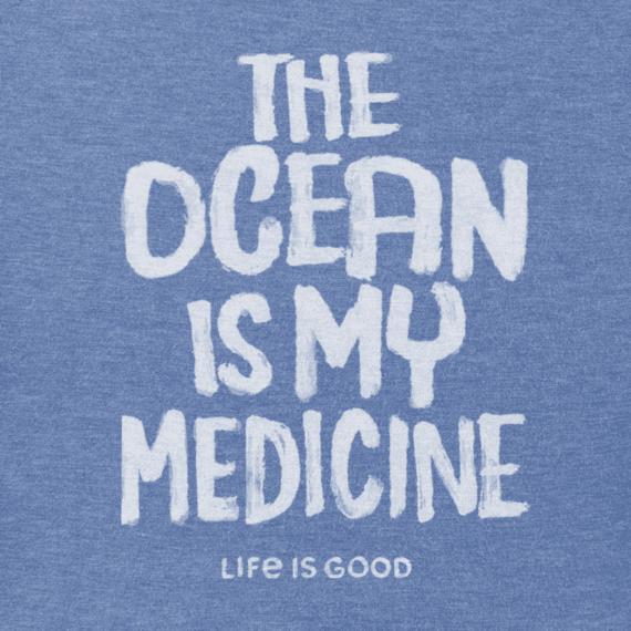 Men's Ocean Is My Medicine Crusher Tee