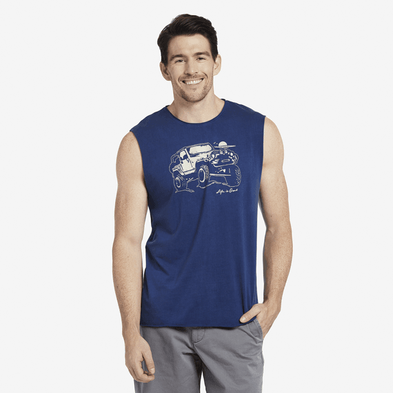 Men's Off Road Beach Freestyle Wash Tank