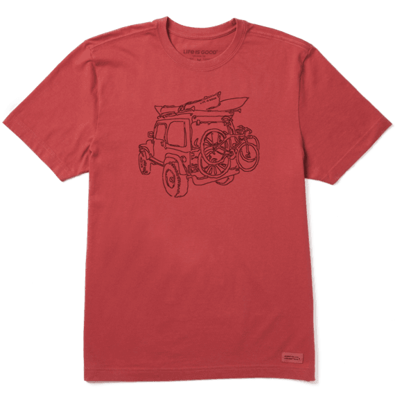 Men's Off-Road Fun Crusher Tee