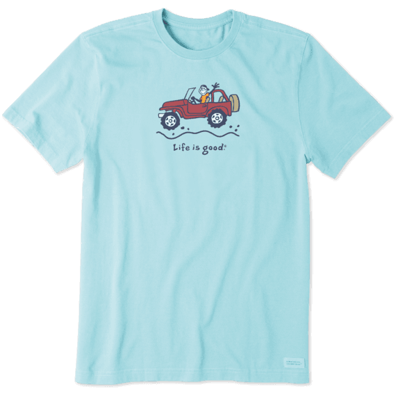 Men's Off-Road Jake Vintage Crusher Tee