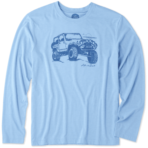 Men's Off-road Beach Long Sleeve Cool Tee