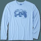 Men's Off-road Beach Long Sleeve Cool Tee