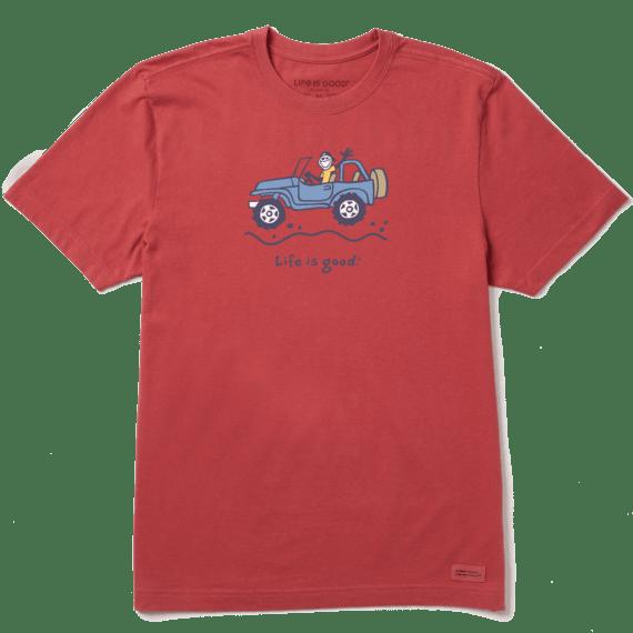 Men's Off-road Jake Vintage Crusher Tee