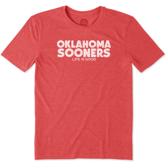 Men's Oklahoma Life is Good Cool Tee
