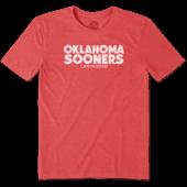 Men's Oklahoma Life is Good Cool Tee