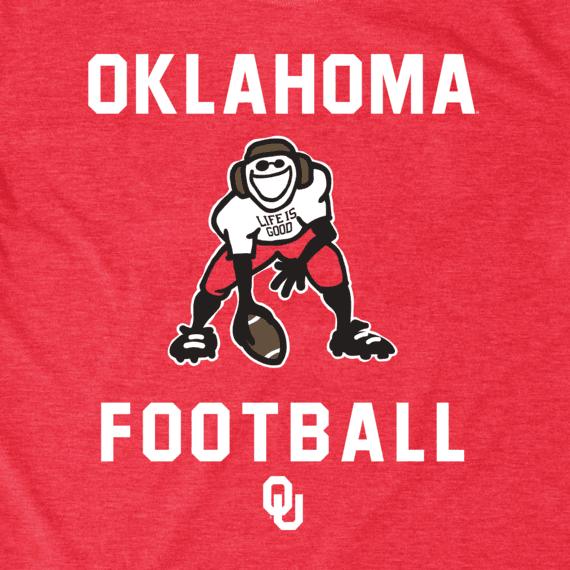Men's Oklahoma Sooners Football Jake Cool Tee