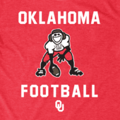 Men's Oklahoma Sooners Football Jake Cool Tee