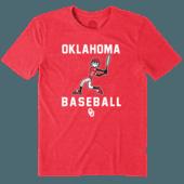 Men's Oklahoma Sooners Baseball Jake Cool Tee
